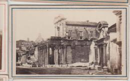 Cdv Vue De Rome Roma Italie Italia Photographe Anonyme 17 - Antiche (ante 1900)