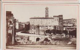 Cdv Vue De Rome Roma Italie Italia Photographe Anonyme 18 - Antiche (ante 1900)