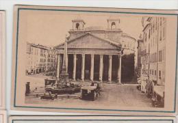 Cdv Vue De Rome Roma Italie Italia Photographe Anonyme 19 - Antiche (ante 1900)