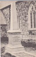 "ENGLAND, PU-1907; ""Billy Bray"" Monument, Baldhu Church - Unclassified"