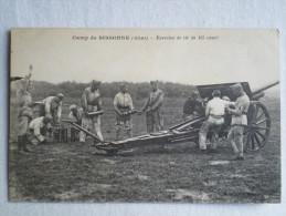 Camp De Sissonne ,exercice De Tir De 155 Court - Guerre 1914-18