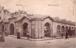 AMIENS Marché LANSELLES Circulée Timbrée 1904 - Amiens