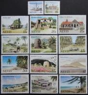 Nevis, Gebouwen, Landschappen - Postzegels