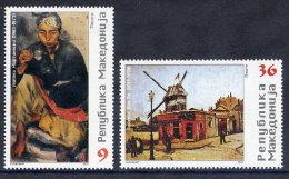 MACEDONIA 2003 Artists´ Anniversaries  MNH / **.  Michel 290-91 - Macedonia