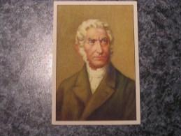 LAMBERT QUETELET Chromo N° 6 Personnage Célébre Soie à Coudre GUTERMANN Gütermann Chromos Vignette Trading Card - Non Classés