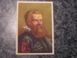 ANDRE VESALE Chromo N° 8 Personnage Célébre Soie à Coudre GUTERMANN Gütermann Chromos Vignette Trading Card - Non Classés