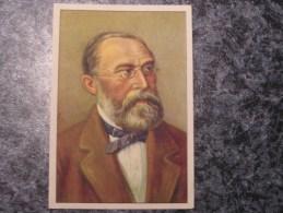 RUDOLF VIRCHOW  Chromo N° 15 Personnage Célébre Soie à Coudre GUTERMANN Gütermann Chromos Vignette Trading Card - Non Classés