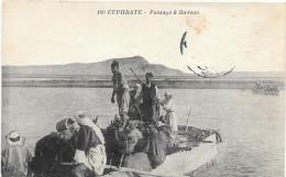 IRAQ Ou Bien Syrie - EUPHRATE PASSAGE A RADEAU - CARTE POSTE DE BEYROUTH - S712 - Iraq