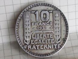 10 FRANCS 1930 ARGENT - K. 10 Franchi