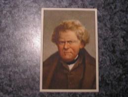 GEORG OHM  Chromo N° 39 Personnage Célébre Soie à Coudre GUTERMANN Gütermann Chromos Vignette Trading Card - Non Classés