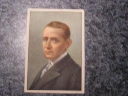 GUGLIELMO MARCONI  Chromo N° 46 Personnage Célébre Soie à Coudre GUTERMANN Gütermann Chromos Vignette Trading Card - Non Classés