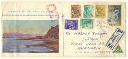 Israel Brief 1957 nach Ungarn
