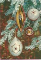 Happy New Year - Christmas Tree Decorations, 1969., Yugoslavia (Zadružna štampa, 5467/1) - Anno Nuovo