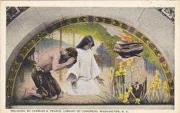 Religion Library Of Congress Washington DC - Malerei & Gemälde