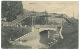 """1912, Trento - """"Passerella E Canale Dell´Adige Vecchio"""" - Trento"""