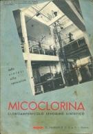FARMACEUTICA  MICLOCORINA  Antibiotico  G. Zambon & C.  Vicenza  Con Carta Stadale Trentino Alto Adige - Pubblicitari