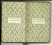 AGENDINA TASCABILE 1934  Omaggio Dell´ Istituto Nazionale Delle Assicurazioni INA - Calendari