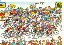 Les Grandes étapes Du Tour De France 1984 14 ème étape Rodez / Domaine Du Câteau De Rouet , Banania Le Maillot Jaune Des - Radsport
