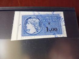 FRANCE TIMBRES FISCAUX SUR FRAGMENT - Revenue Stamps
