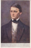 Ralph Waldo Emerson American Writer Philosopher, Tuck #2701 Series IV, C1910s Vintage Postcard - Writers