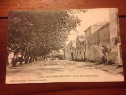 Saint Paul Trois Châteaux Cours Des Platanes - France