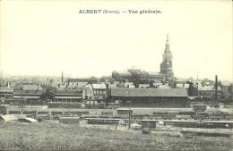 ALBERT -  Vue Générale  (gare)             -- Grossel - Albert