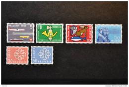 1959, Zumstein Nos 343 à 348 ** - Ungebraucht