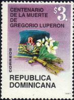 DOMINICAN GREGORIO LUPERÓN Sc 1255 MNH 1997 - Dominikanische Rep.