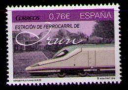 ESPAÑA 2014 - ESTACION DE IRUN - INFRAESTRUCTURAS CIVILES - EDIFIL Nº 4913 - 1931-Oggi: 2. Rep. - ... Juan Carlos I
