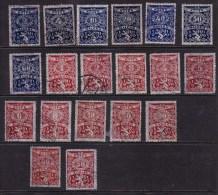 Czechoslovakia 1919 Tax Stamps - Extremely Fine - Czech Republic