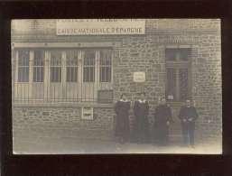 50  Ducey Carte Photo Façade De La Poste Postes & Télégraphes Animée - Ducey