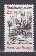 N° 2443 Centenaire De La Naissance D´Henri Alain Fournier Illustration Du Grand Meaulnes: - France
