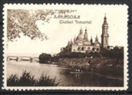 Vignette Publicitaire Zaragoza, Ciudad Inmortal - Cinderellas