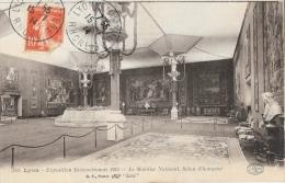 Lyon - Exposition Internationale 1914 - Le Mobilier National - Salon D'Honneur - Carte B.F. Lux - Other