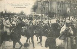 METZ  1918 ETAT MAJOR ALLIE DE LA SUITE DU MARECHAL PETAIN - Metz