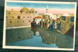N°03  -  Jérusalem - Le Hamam El Batrak ( Piscine D'Ezechias )  , Fak124 - Palestine