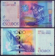 CABO CAPE VERDE 1000 ESCUDOS 2014 PICK NEW DESIGN SC UNC - Cape Verde