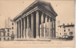 Vienne  (38200)  Temple D´Auguste à Vienne - SérieB.P, - Vienne