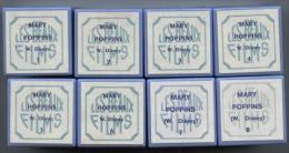 Fim fixe 35 mm, Mary Poppins, ,Les beaux films, 8 bobines ,W. Disney
