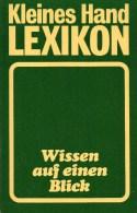 Verlag Buch Und Wissen Auf Einen Blick Antiquarisch 6€ Kleines Hand-Lexikon 1989 Mit Register A-Z Mini Lexika Of Germany - Lexiques