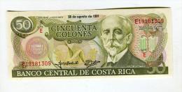 50 COLONES   NEUF 4 EUROS - Costa Rica