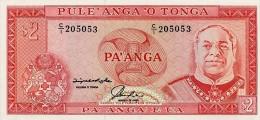 Tonga 2 Paanga 1992 Pick 26 UNC - Tonga