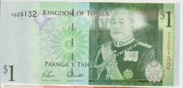 Tonga 1 Paanga 2008 Pick 37 UNC - Tonga