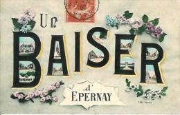 51 Un Baiser D'EPERNAY - Epernay