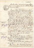 CHATEAUBRIANT (44)  Déclaration De Perte, 5 Obligations  De La Ville De Paris - Emprunt 1898 - Melle Portais Françoise - Shareholdings