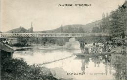 CHATEAUNEUF LES BAINS(PUY DE DOME) - France