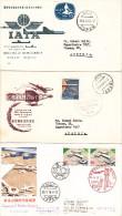 FDC Set Of 3 Japan Aircraft Flight Airport 1959 1960 1978 (332) - FDC