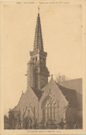 Le Juch (finistère) L' Eglise - Unique Sur Delcampe - France