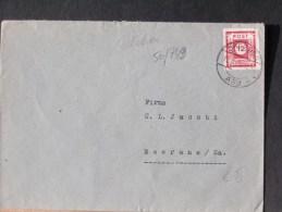 50/749     LETTRE  OST SACHSEN - Sovjetzone
