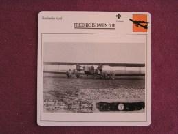 FRIEDRICHSHAFEN G-III   Bombardier   FICHE AVION Avec Description  Aircraft Aviation - Avions